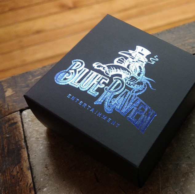 BLUE RAVEN CARD BOX