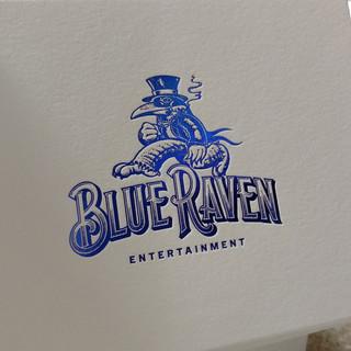 BLUE RAVEN NOTECARD