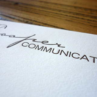 TROSPER COMMUNICATION LETTERHEAD