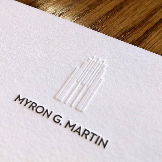 MYRON MARTIN STATIONERY