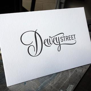 DEWEY STREET NOTECARD