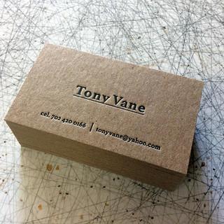 TONY VANE