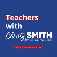 Teachers with Christy