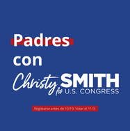 Padres con Christy