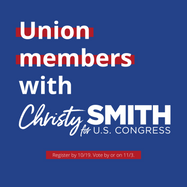 Union Members with Christy