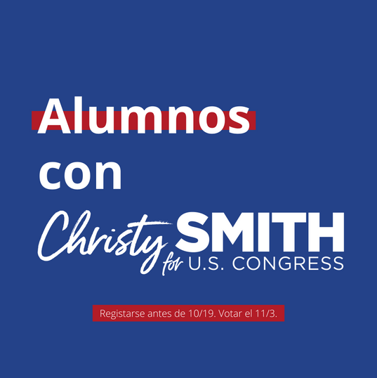 Alumnos con Christy