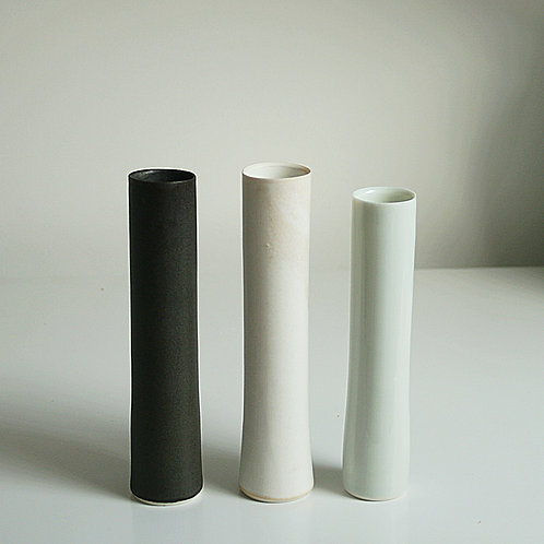 Three cylinder vases