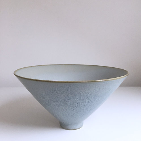 A medium bowl in blue-grey