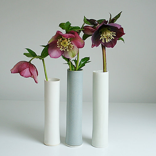 Three cylinder vases