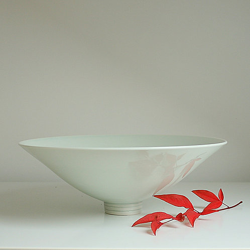 A large bowl in celadon
