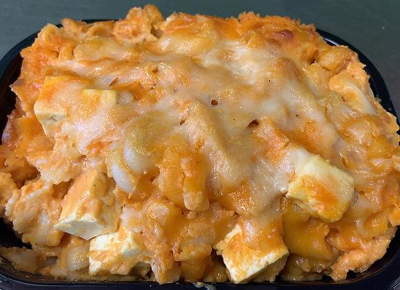 Mac and cheese et tofu