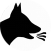 Dog breath icon