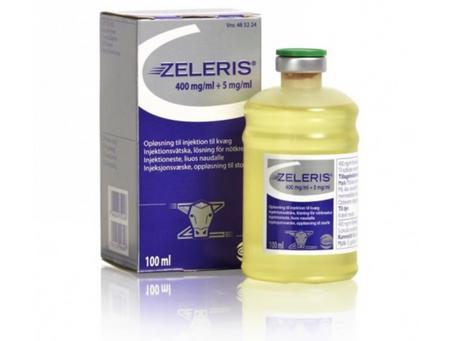 New Product For Treating Bovine Respiratory Disease: Zeleris