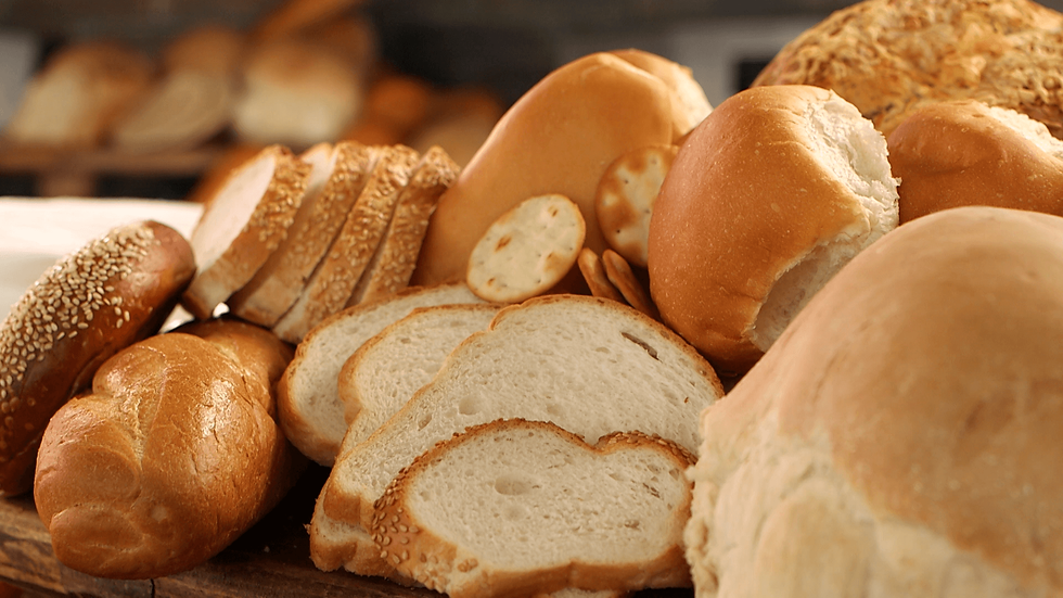 Different kinds of breads - Bake Haus Café