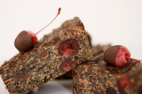 Cherry Delight Slice Gluten Free