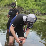 Snorkel no rio Salobra