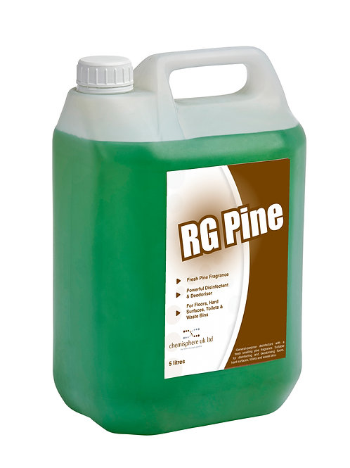 RG PINE DISINFECTANT (2 x 5 Litres)