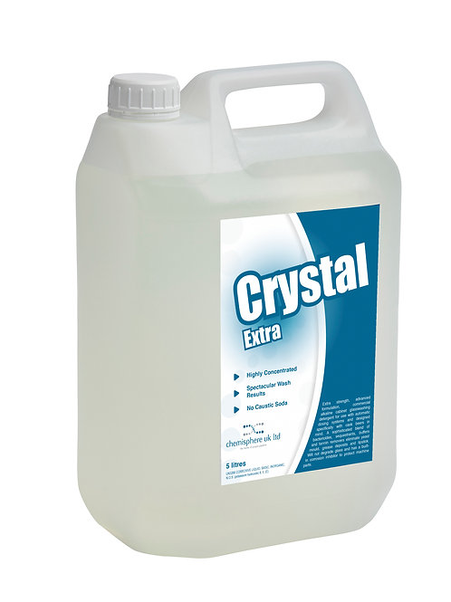 CRYSTAL EXTRA - Extra Strength glass-washing detergent.
