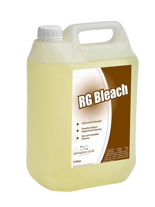 RG BLEACH (Case 2 x 5 Litres)