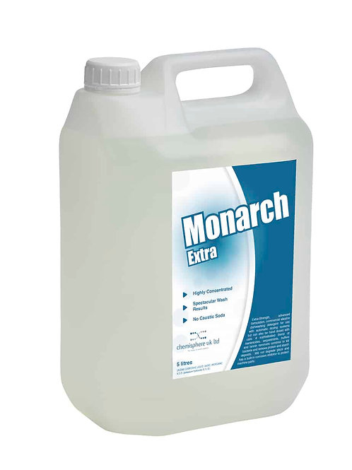MONARCH EXTRA - Extra Strength dish-washing detergent.