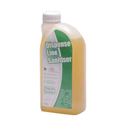 DISPENSE LINE SANITISER - Keeps dispense lines sanitised during prolonged period