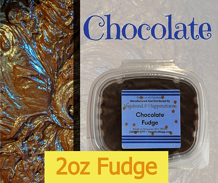 2oz Chocolate Fudge