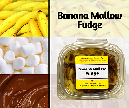 4oz Banana Mallow Fudge