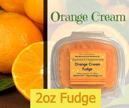 2oz Orange Cream Fudge