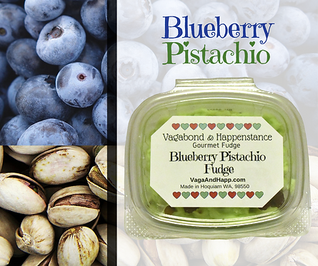 Blueberry Pistachio Fudge