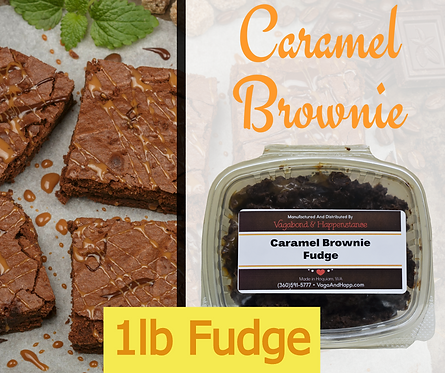 1lb Caramel Brownie Fudge
