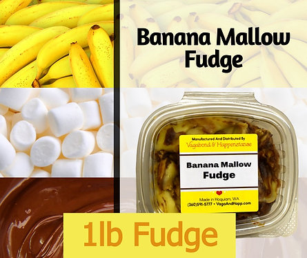 1lb Banana Mallow Fudge