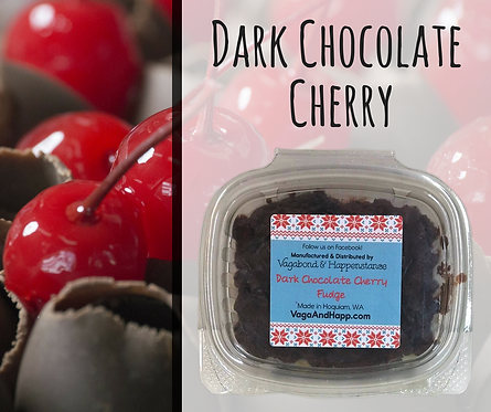 4oz Dark Chocolate Cherry Fudge