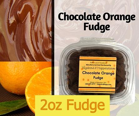2oz Chocolate Orange Fudge