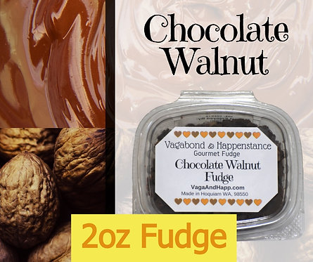 2oz Chocolate Walnut Fudge