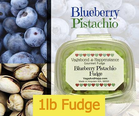 1lb Blueberry Pistachio Fudge