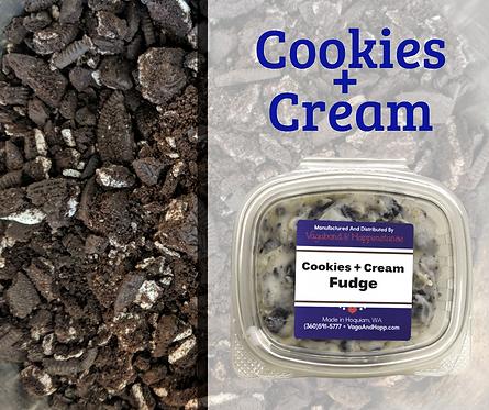 4oz Cookies + Cream Fudge