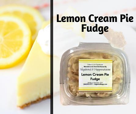 Lemon Cream Pie Fudge