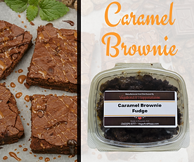 Caramel Brownie Fudge