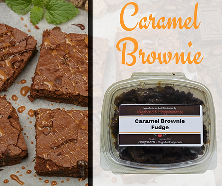 Caramel Brownie Fudge