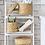 Thumbnail: 3 Pcs/Set Handmade Straw Woven Storage Basket With Lid