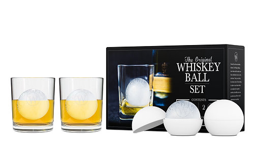 The Whiskey Ball Duo Gift Set