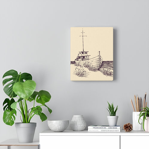 Canvas - Boat