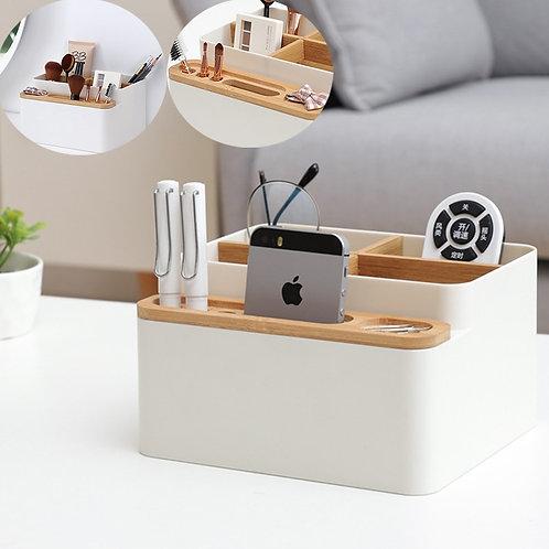 Desk Storage Box Detachable Multi-Purpose