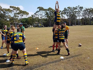 Jackal rugby involved with Aust Police Women's rugby camp.