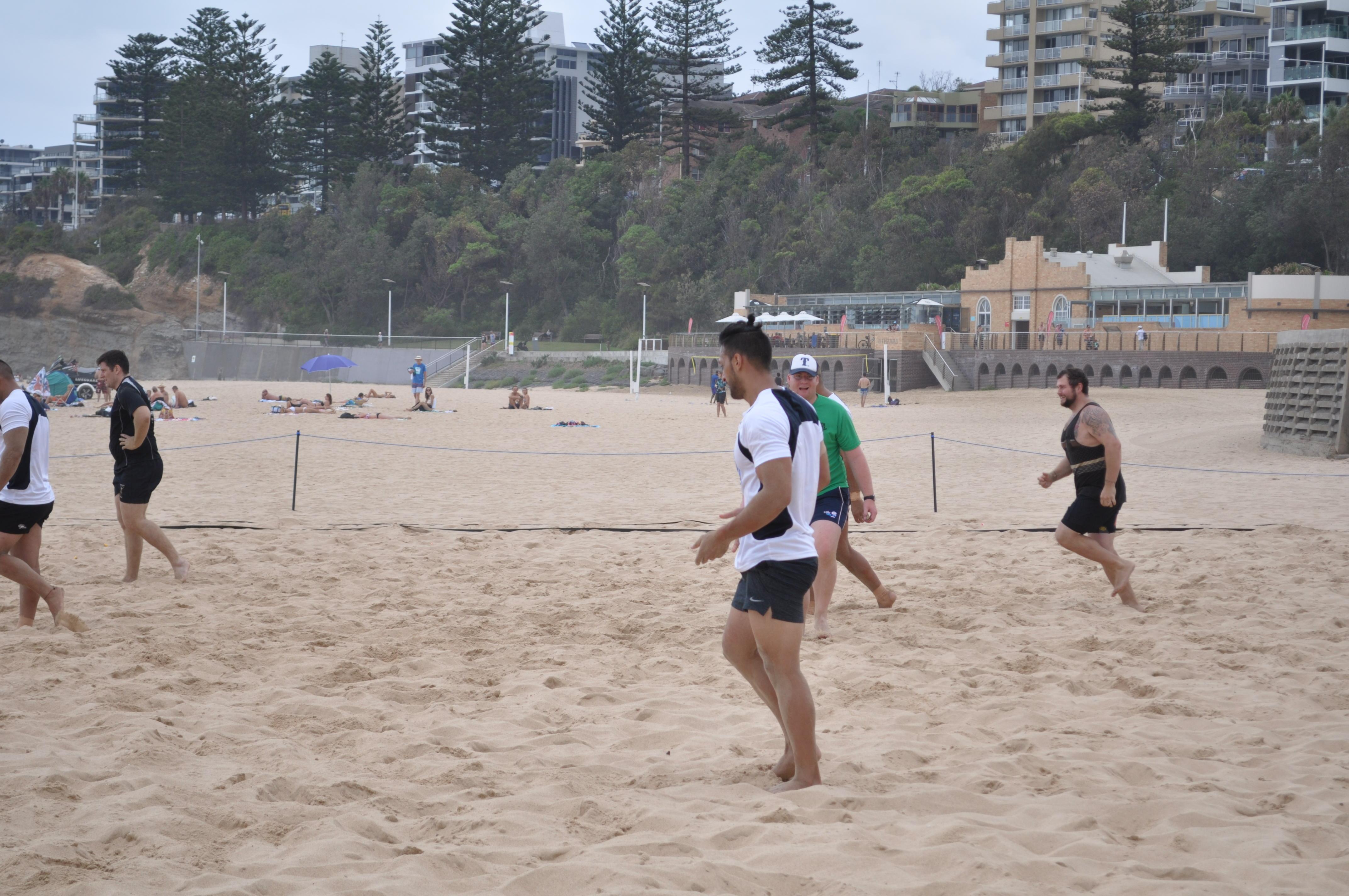 Beach Rugby 2017