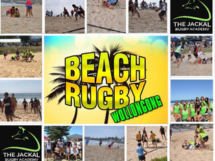 Beach rugby back in Wollongong