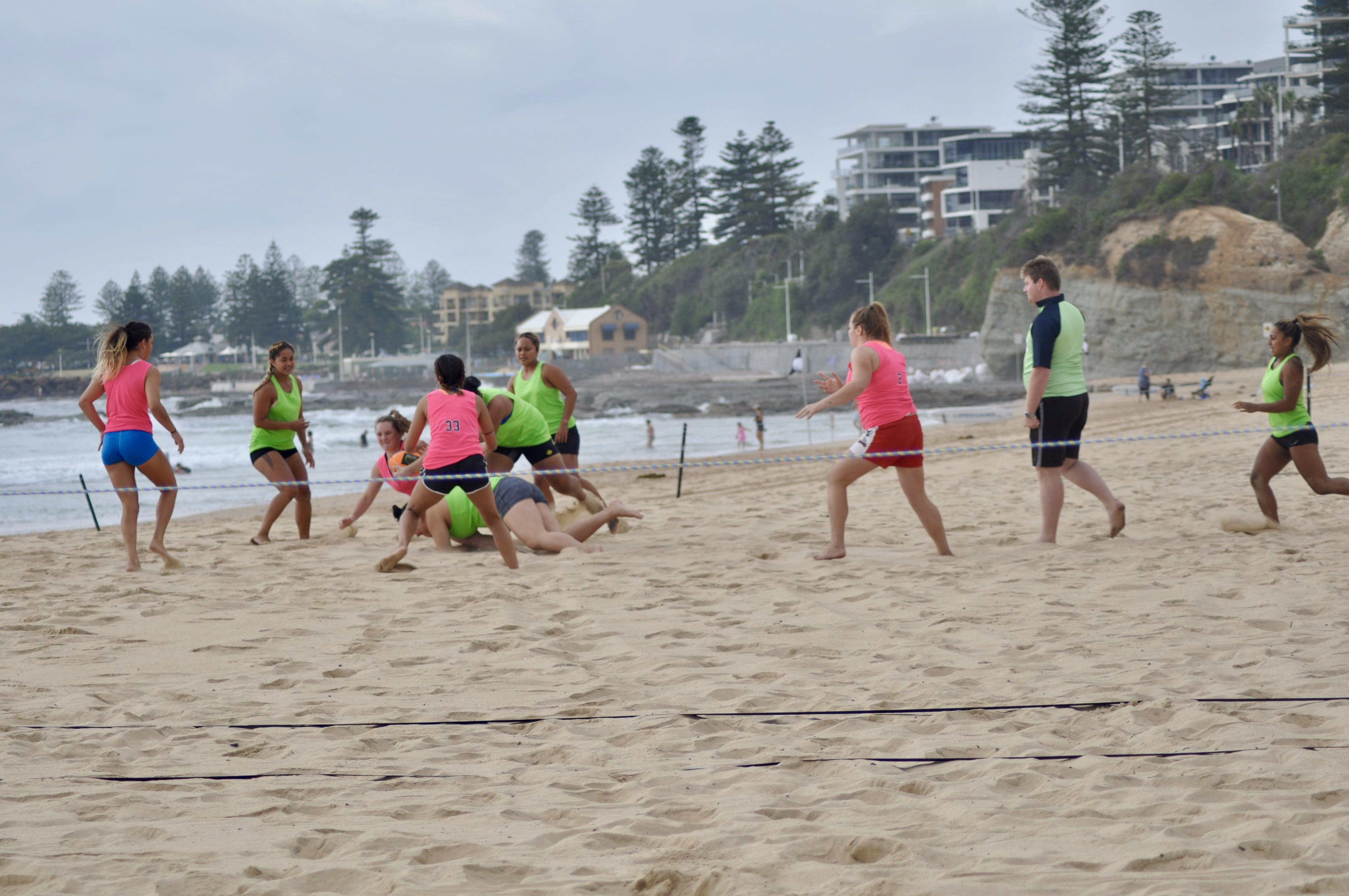 Beach Rugby 2018