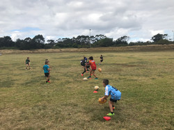Vikings Rugby Park kids clinic