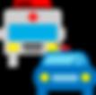 ambulancia y policia