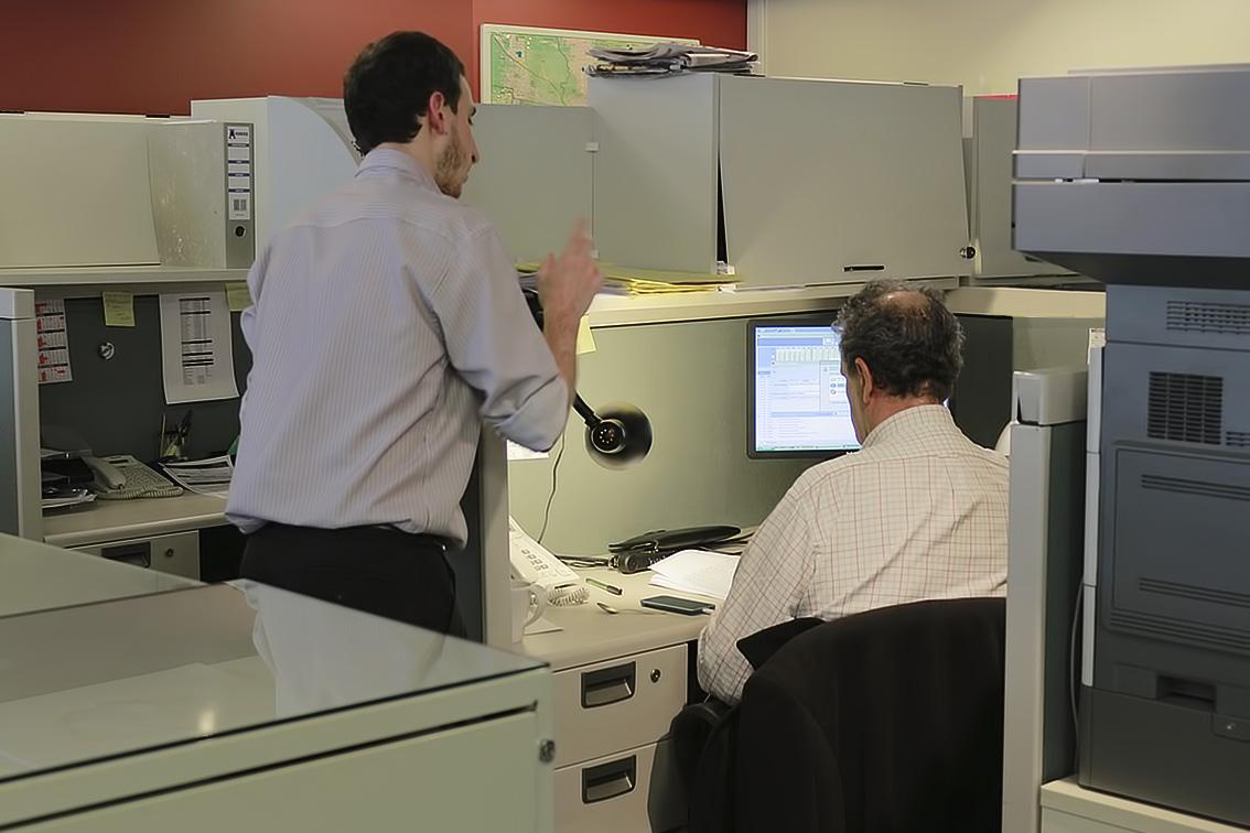 abogados trabajando en accidentes de trabajo